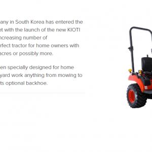 Kioti | Southern Machinery