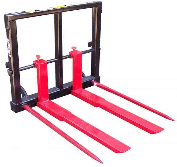 Combination Pallet Fork/Silage fork Eurohitch Connection