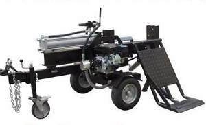 30t Millers Falls Black Diamond Log Splitter with lifting table